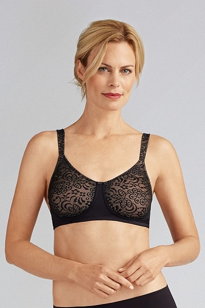 ec174113cb Amoena Annette Lace Molded Cup Wire-Free with Microfibre fabric