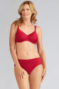 Lara Satin Bra Ruby Red